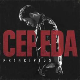 Portada del disco Principios de Luis Cepeda